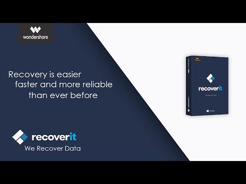 cara memulihkan data yang terhapus atau hilang di komputer menggunakan Recoverit klik link berikut i.