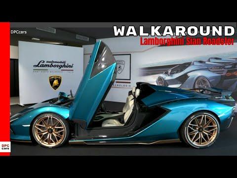 Lamborghini Sian Roadster Walkaround