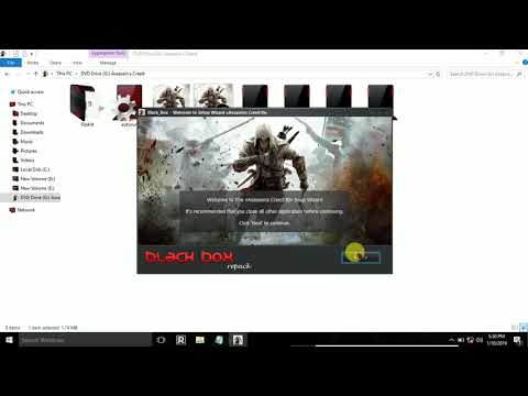 How To Install Assassin Creed 3 Blackbox Game.