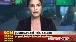 TRT Spikeri Şehit haberi verirken ağladı! CANLI YAYIN! 19 Ekim 2011