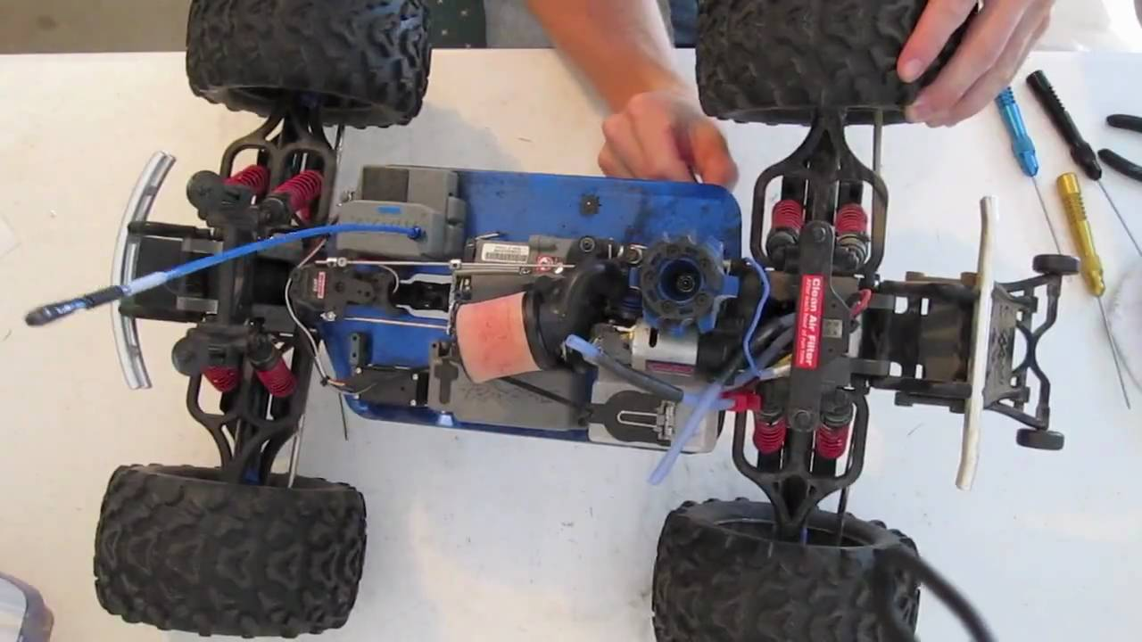 maxresdefault how to remove your traxxas engine w ez start youtube traxxas wiring harness at readyjetset.co