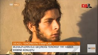 DEAŞ'lı Teröristin İtirafları -  TRT Avaz Haber