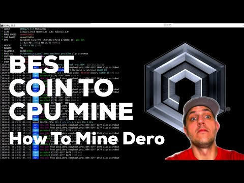Best Coin To CPU Mine [DERO Step By Step Mining Guide]