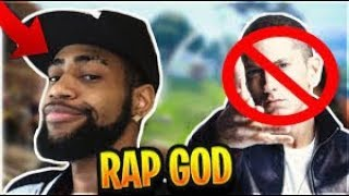 TSM_DAEQUAN TRYING TO BE RAP GOD!