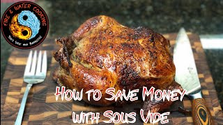 How To Save Money on Meat Using Sous Vide and Vacuum Sealers