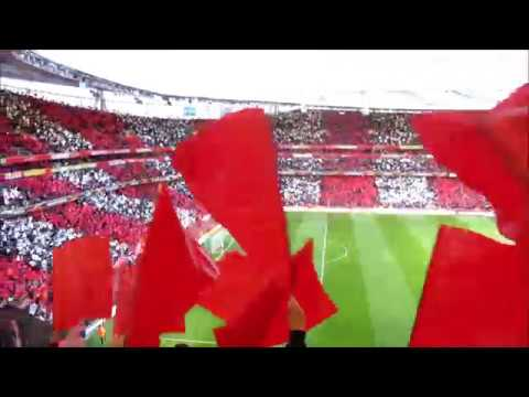 Arsenal vs Atletico Madrid - Flags & Lights