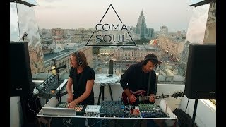 Coma Soul - Disappear | indie electronic | deep techno | live at Time Out Rooftop Bar