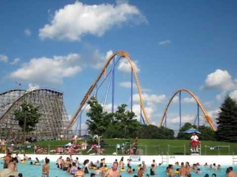 Canada's Wonderland - Behemoth Roller Coaster