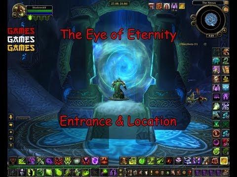The Eye of Eternity Raid Entrance & Location