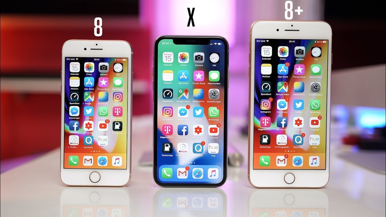 Iphone X Les Couleurs