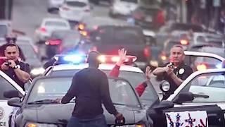 9 Офигенных Полицейских Погонь, Снятых на Камеру!