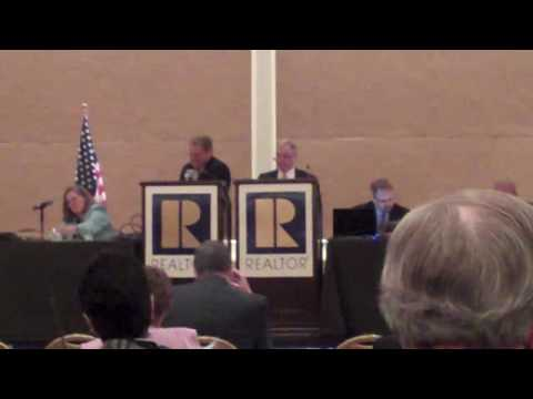 NAR vote to amend NAR Code of Ethics to include sexual orientation - video by NAGLREP.com