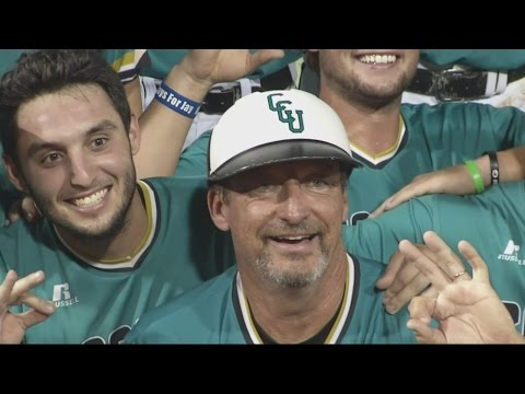 Gary Gilmore talks about leading the Chanticleers to their 1st College World Series