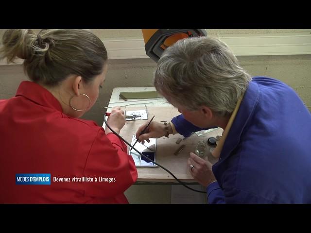Modes d'emplois - Devenez vitrailliste à Limoges
