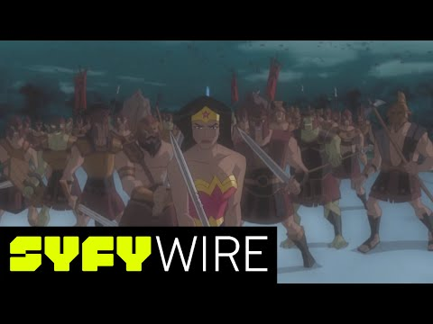 Exclusive: Wonder Woman Animated Movie, Best Moments Supercut | SYFY WIRE