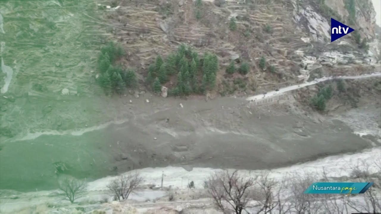 7 Tewas dan 125 Orang Hilang Tersapu Longsoran Gletser