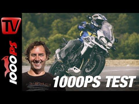 1000PS Test - Triumph Tiger 1200 - Die Raubkatze vollgestopft mit Elektronik!