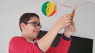 Beratın Doğum Günü Hazırlıkları Evi Süslüyoruz Uçan Balon Şişiriyoruz