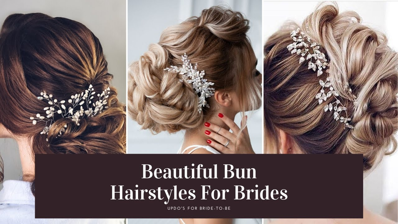 Beautiful Bun Hairstyle For Bride-to-be | Bun Hairstyle With Tricks