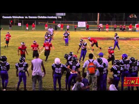 t.r.w.l.  SPORTS  ~  Cascade Wolverines  vs  Dawson Christian Academy 11u 2013