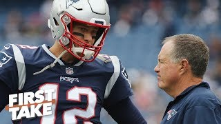 Does Tom Brady deserve more credit than Bill Belichick for Patriots' win vs. Chargers? | First Take