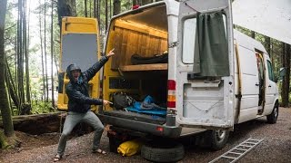 One of Leftcoast's most viewed videos: Sleeping Four people in our Sprinter Van  Tofino Trip - Leftcoast