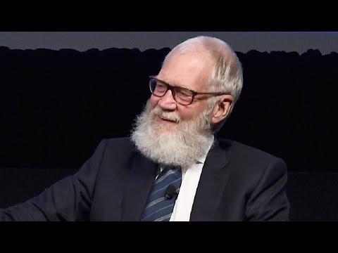 David Letterman's Retirement Beard Makes Him Nearly Unrecognizable