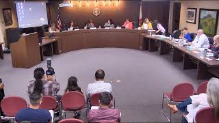 PUSD Board Meeting 8-12-19
