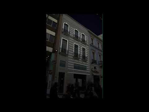 Media Facade outline Proposal Folli Follie commercial store - Athens, Ermou Str