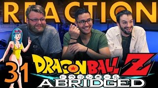 TFS DragonBall Z Abridged REACTION!! Episode 31