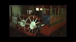 видео колесный пароход