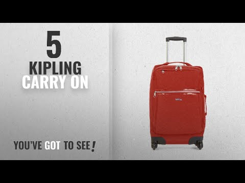 Top 10 Carry On Kipling [2018]: Kipling Darcey Solid Small Wheeled Luggage ,, Red Rust