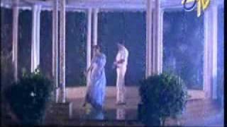 shobana hot  rain song