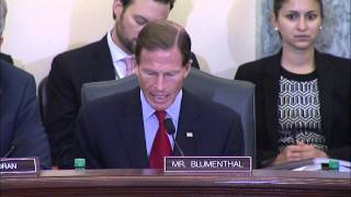 Blumenthal Discusses FIFA and US Soccer Failures at Senate Commerce Committee Hearing