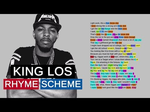 King Los On No Option | Rhyme Scheme