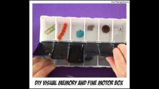 Visual Memory and Fine Motor Box