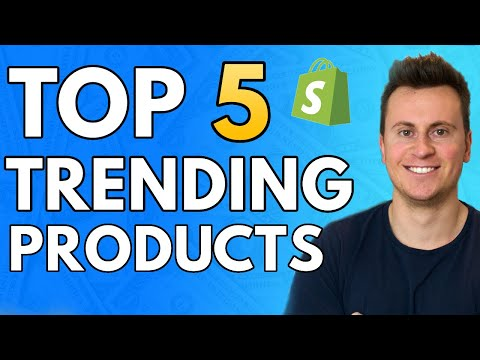 Top 5 Trending Products To Sell Today! Shopify Dropshipping 2020 thumbnail