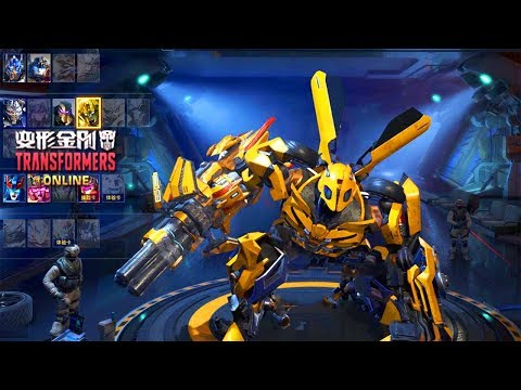 Bumblebee The Last Knight Basic Gun Vs Darts - Transformers Online Gameplay 2019