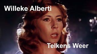 """Willeke Alberti performs """"Telkens Weer""""  (from the movie: """"Rooie Sien"""") [RESTORED] [LYRICS]"""