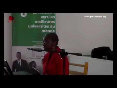 Finacement de micro projets des jeunes vulnérables et interview  GIVHOPE2