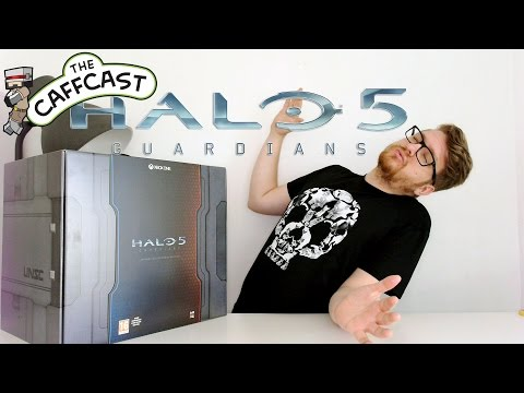 Unboxing Halo 5 Guardians Limited Collector's Edition