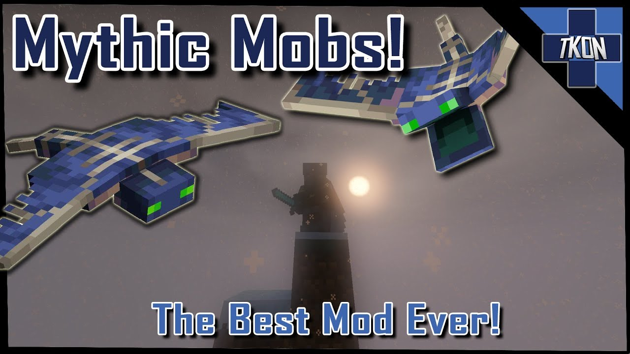 The Best Minecraft Mod Of 2019 Mythic Mobs