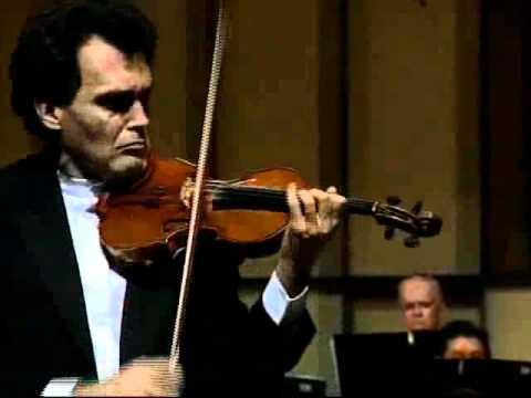 Tchaikovsky Concerto 1st Mvt Part 1 - Olivier Charlier and Simon Bolivar Orchestra