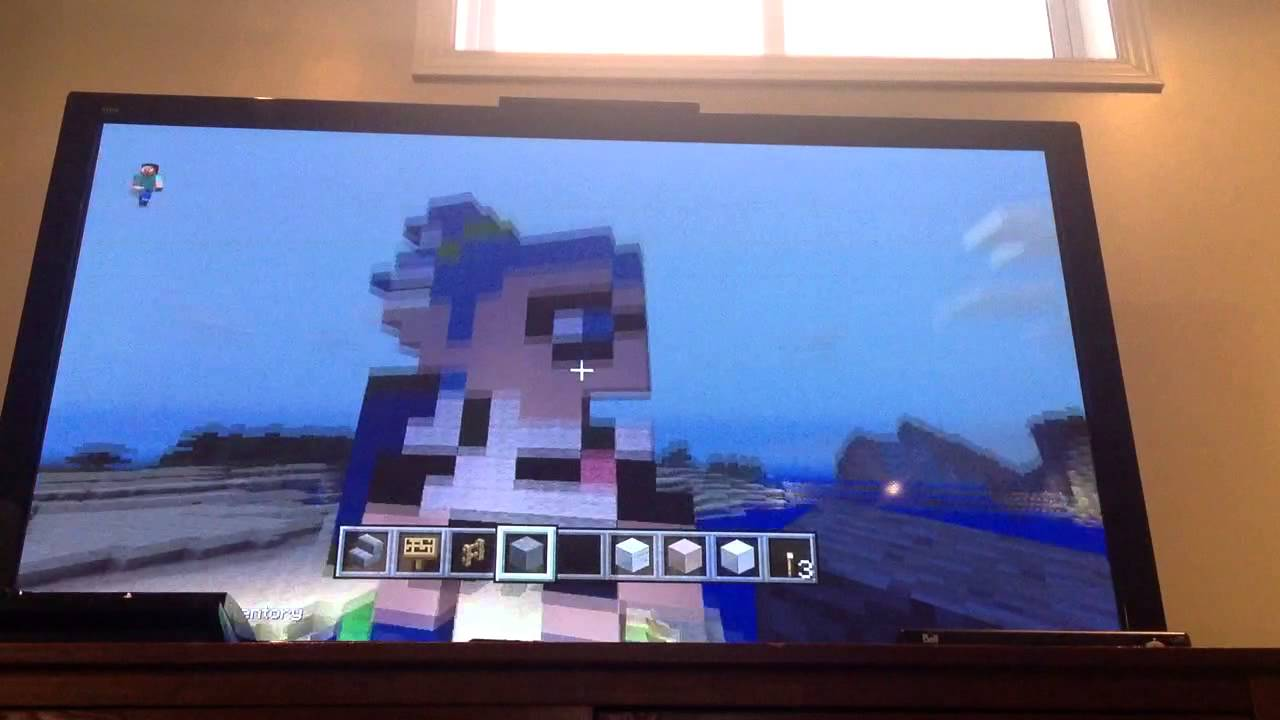 Minecraft Wii U Splatoon Inkling Pixel Art