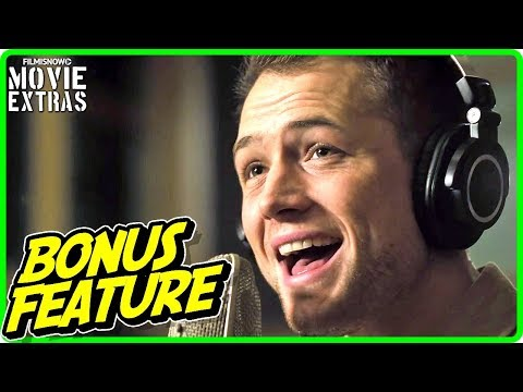 ROCKETMAN | Taron Egerton Sings Featurette