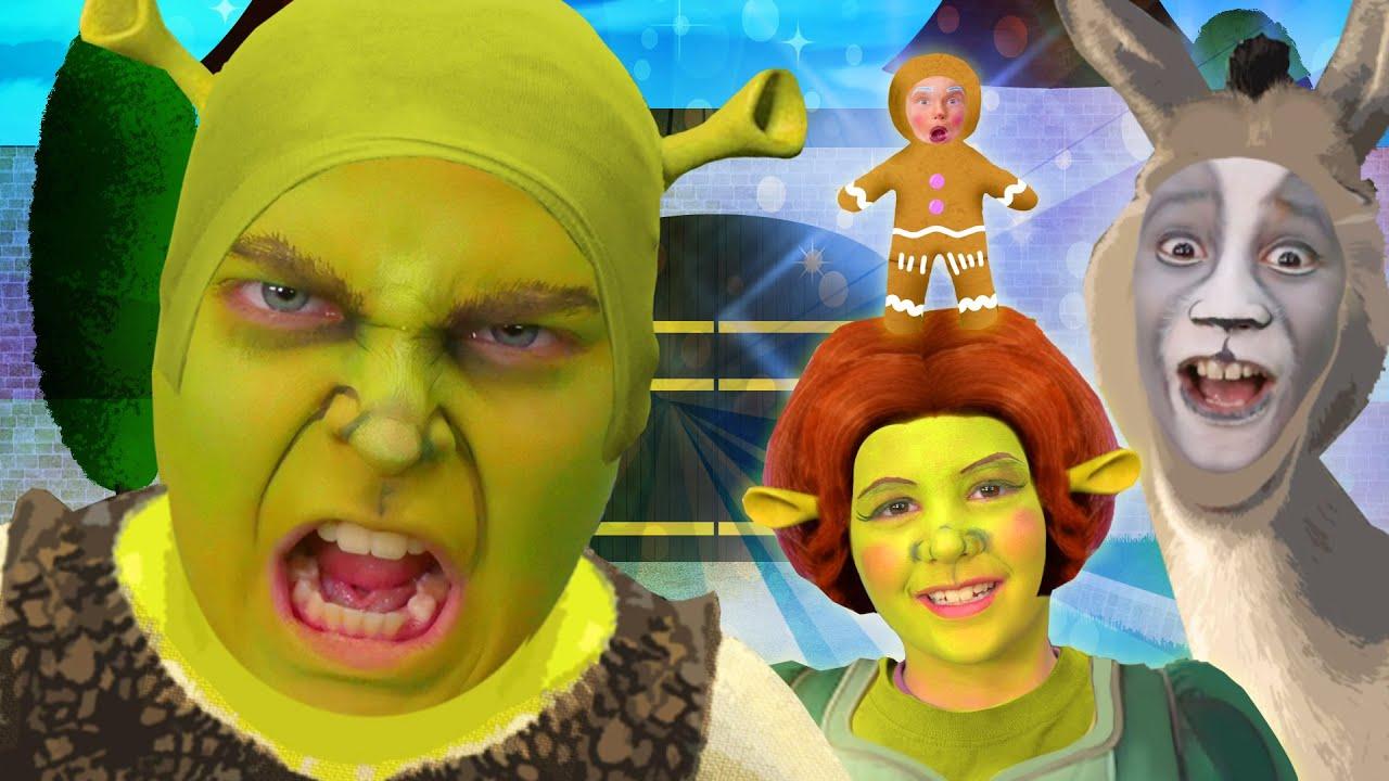 Shrek Finger Family Song   Halloween Team