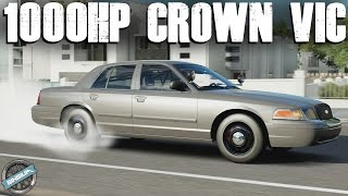 2010 Ford Crown Vic || 1000HP SLEEPER BUILD - TOP SPEED/DRIFTING/RACING || Forza Horizon 3