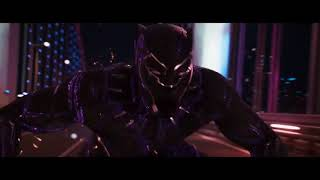 BLACK PANTHER Casino Fight Scene Movie Clip + Trailer 2018 Marvel Superhero Movie HD