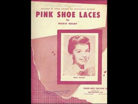 PINK SHOE LACES - VINTAGE NOVELTY RECORD