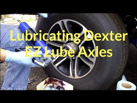 How to Lubricate Dexter EZ Lube Axles